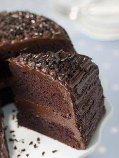 Pastel de Chocolate Fudge